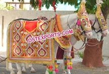 #Indian #Wedding #Embroidered #Horse #Costume #Dstexports / We are manufacturing and exporter for all type of wedding decorations.