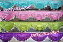 #Indian #Wedding #Mandap #Backdrops #Curtains #Dstexports / We are manufacturing and exporting for all type of wedding decorations.