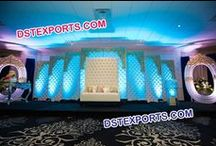 #Wedding #Leather #Tufted #Panels #Furnitures #DSTEXPORTS / We are manufacturing and exporting for all type of wedding decorations.