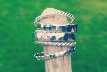 Some of my work / Smykker, unikater, oppdrag, jewelry, silver, handmade in Norway