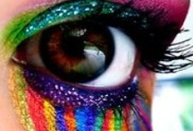 Color love / Art, rainbows, candy and everything colorfull!