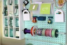 Rangement  / Idée de rangement et agencement de votre pieces d'artisanat