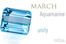March- Aquamarine / by H.L. Gross Jewelers/Since1910.com