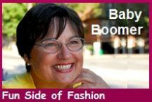 The Fun Side of Baby Boomer Fashion / Fashion Disasters occur. Buying clothes has its lighter moments. Plus witty fashion sayings & cartoons.