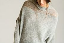 Paychi Guh Fall 2014 / 100% cashmere collection inspired by modern art and architecture by Antoni Gaudi.  Luxuriously soft hand feel. Timeless style with individuality. Ultimate comfort for everyday indulgence.