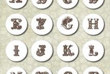 printable letters&numbers / printable letters&numbers