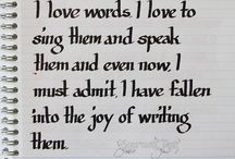 words...<3 / Everything
