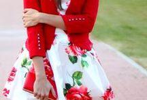 DRESSES FLOWERS