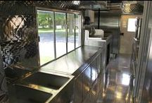 VTI Mobile Kitchen Interiors / Explore some of the many custom mobile kitchens we have designed and fabricated for our clients! We can build out any food truck to meet your needs.