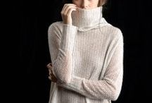 Paychi Guh Fall 2015 / Timeless style with individuality. Ultimate comfort for everyday indulgence. Cashmere collection inspired by the works of Mark Rothko.