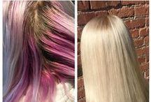 THEORY \\ Transformations / Color corrections, before + afters, and dramatic new looks by our stylists @ Theory
