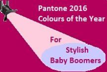 Pantone 2016 Color of the Year: Rose Quartz & Serenity / World Colour Authority Pantone has named Rose Quartz and Serenity as its colours for 2016. This board is about how Baby Boomer Women can wear those colours as well as having a little bit of fun with it. #2016Colour #Pantone #RoseQuartz #Serenity