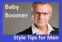 Style Tips for Baby Boomer Men / When a Baby Boomer male takes off his tie, he's lost. Bring him into the 21st century with these modern style tips.  #manstyle