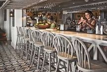 Bar / Our favourite Bar interior designs, as well as some of our Bar-suitable products including poseur height tables and barstools. See more products and get in touch using the link below: http://jarrettfurniture.co.uk/