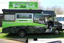 VTI Food Truck Design & Branding / We offer design services for any clients who need assistance with their vinyl graphic wrap and/or logo. Here are some examples that our designer has worked on to make the clients brand come to life.