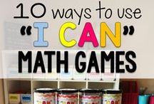 Teaching Math / Ideas, resources and games to make learning and teaching math fun!