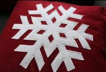 brr... l'hiver ... flocons / by Christel Ponsero