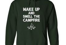 Camping T Shirts / Camping theme T shirts for those who love the great outdoors.