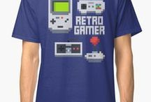 Geeky - Nerdy - Gaming T Shirts / Geeks and nerds are the new sexy, haven't you heard?