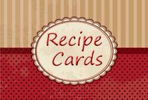 WGM Recipe Cards / Printable recipe cards for international foods