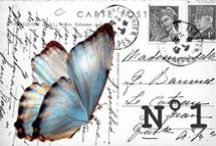 Decoupage - Postcards