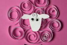 animaux à poils : shaun le mouton / tm et apprentissage sur le thème du mouton / by Christel Ponsero