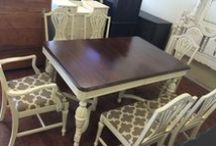 My Shabby Chic Dining/Kitchen Room Tables / This is the board with all of my dining room and kitchen table sets.