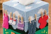 BOX / Box, Storage Basket, Organizer, Tissue box cover