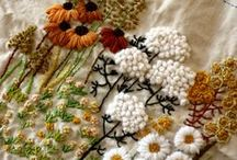 Embroidery / bordado  broderie embroidery вышивка  Embroidery stitches, Knots