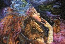 Joséphine Wall / Peintre anglaise spécialiste de la Fantasy et des peintures mythiques.