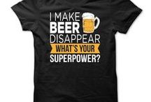 Beer T Shirts / To beer! The cause of, and solution to, all of life's problems.