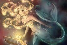 Sirènes / Œuvres différentes sur le thème des Sirènes