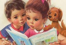 Marcel Marlier / Peintures Quelle était belle mon enfance avec Martine !
