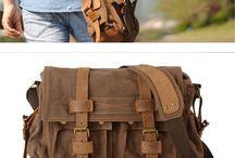 Messenger & canvas bag