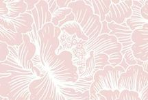Pretty Patterns + Prints / Branding patterns and prints, floral patterns, artwork, design, pretty patterns, backgrounds, wallpapers