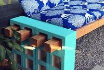 ReUse: Cinder Blocks / Creative ways to reuse cinder blocks!
