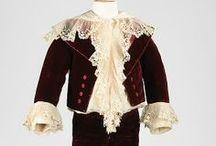 Antique dress for dolls