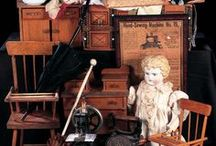 Antique Doll's house furniture.