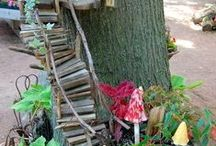 Miniature garden / fairies, miniatures,
