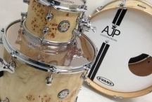 Musical Instruments / Oakwood Veneer supplies wood veneer to many drum, piano and organ manufacturers, among others. A lot of the drums are finished with exotic woods that give them that distinct look. / by Oakwood Veneer