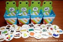Kindy / Educational materials English Language ESL Phonics