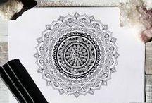:: MANDALA ART :: / :: MANDALA (pronunciation Mon-dah-lah) Mandala means circle in the ancient indian language of sanskrit. It also symbolises your journey through life. A mandala represents WHOLENESS, UNITY, HEALING, HARMONY. Mandala art is a great meditational tool. ::