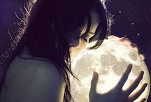 """:: MOON MAGICK :: / :::: """"There are nights when the wolfs are silent and only the moon howls"""" - George Carlin ::::: Learn how to connect with Lady Luna. Rituals and Spells. Manifestation and Divination. Connect to your natural cycles. Healing and empowerment with the Moon."""