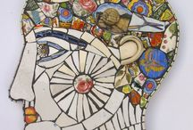 Picassiette Memory / Mosaics from broken china and memoryware.