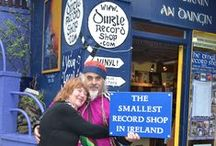 Musical Visitors / Some of our many wonderful musical visitors to Dingle Record Shop.