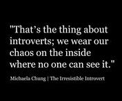 :: INTROVERT/INFJ :: / >> All things Introvert & INFJ. Articles & Inspiration. How to deal with, live with, relate to and understand. <<