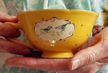 Tea Time / Cups, tea pots, etc.