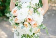 bohemian bride flowers bouquet