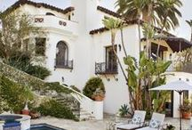 Dream villa in Spain / One day I want to buy, renovate & decorate a villa in Spain. This is exactly how i would like my dream Spanish villa to look...