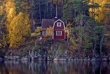 :: SWEDEN/SVERIGE :: / Du gamla, Du fria, Du fjällhöga nord  Du tysta, Du glädjerika sköna!  Jag hälsar Dig, vänaste land uppå jord,  |: Din sol, Din himmel, Dina ängder gröna. :|  Richard Dybeck, 1844